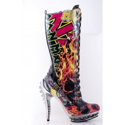 Rock Star Heavy Metal Boots