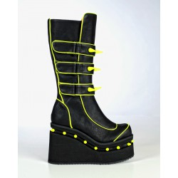 Blade yellow cyber boots