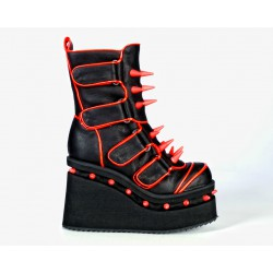 Pulse Orange Cyber Boots